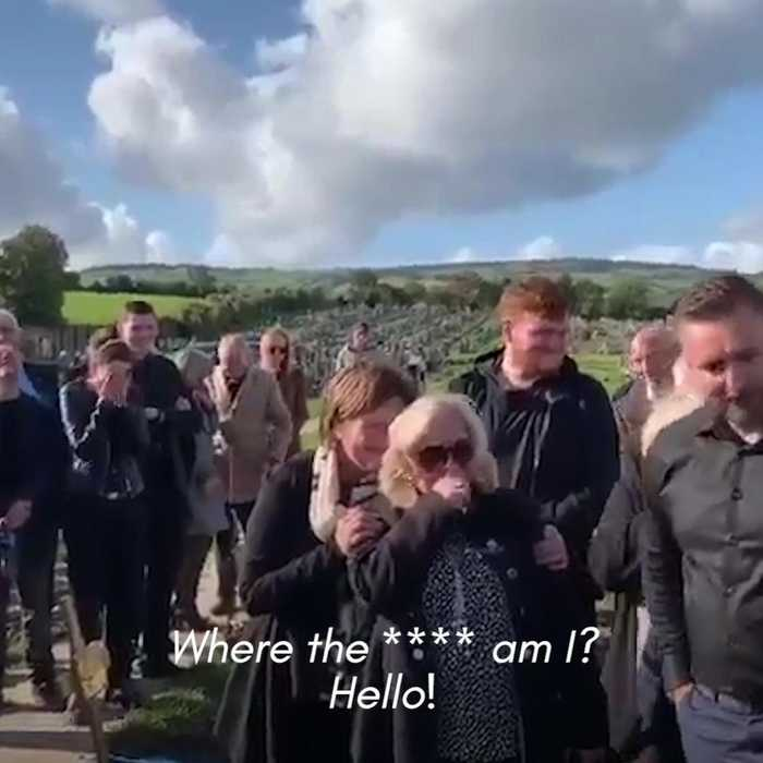 Irishman plays prank on his family, at his own funeral, with a hilarious pre-recorded message