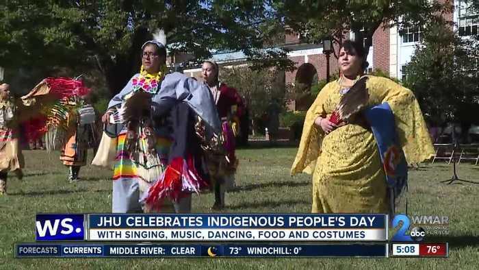 JHU celebrates Indigenous People's Day