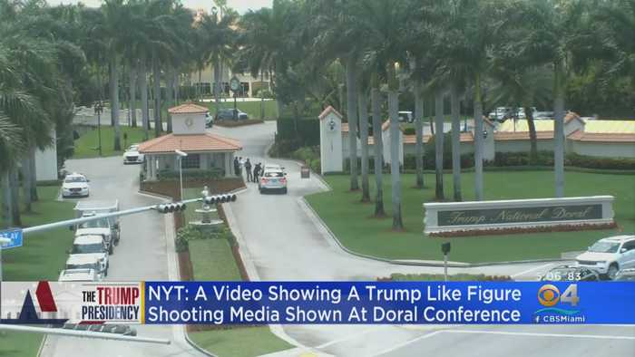 NYT: Movie Scene Altered To Show Trump Shooting Media & Critics Played At Doral Conference