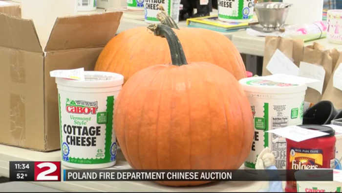 Poland Fire Department holds annual Chinese Auction