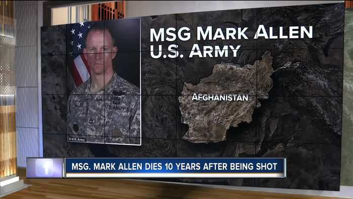 Soldier who was wounded in 2009 Bergdahl search dies