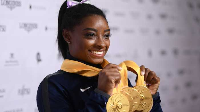 Simone Biles Is The Most Decorated World Championships Gymnast Ever