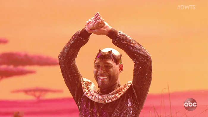 Karamo's Lion King Samba