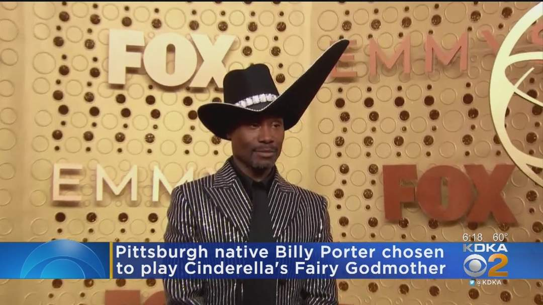 Pittsburgh Native Billy Porter To Play Cinderella's Fairy Godmother