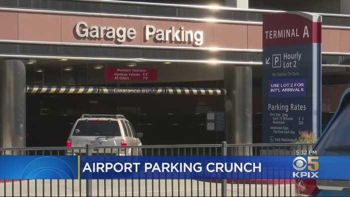 Parking Spots Disappear At Mineta San Jose International Airport