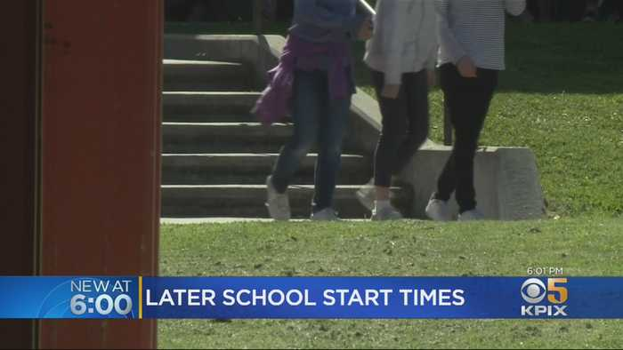Governor Signs Law To Push Back School Start Times