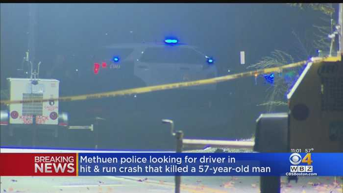 Methuen Police Search For Driver After Fatal Hit & Run Crash