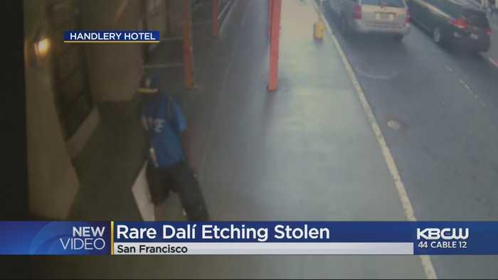 Rare Salvador Dalí Work Stolen From Fine Art Gallery In San Francisco