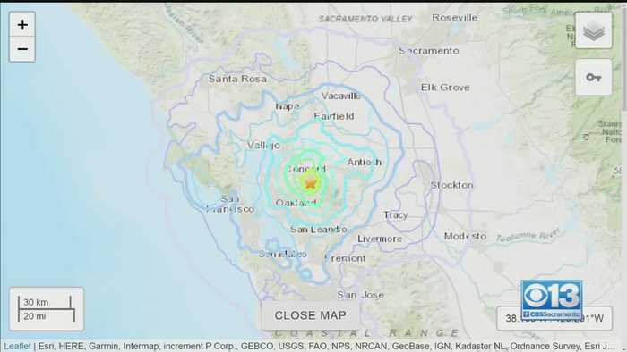 4.5 Magnitude Earthquake Hits Pleasant Hill