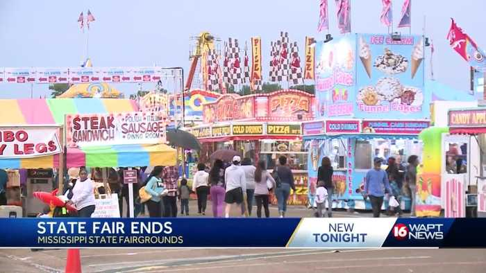 Crowds come out in droves for final day of Mississippi State Fair