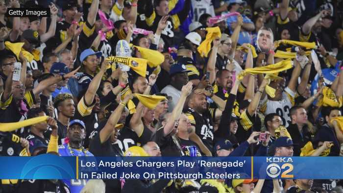 Los Angeles Chargers Play 'Renegade' In Failed Joke On Pittsburgh Steelers