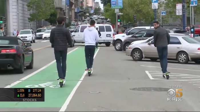 More Electric Scooters Coming To San Francisco Streets In Expansion Of Pilot Program