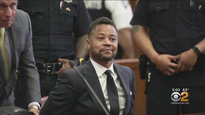 Cuba Gooding Jr. In Court