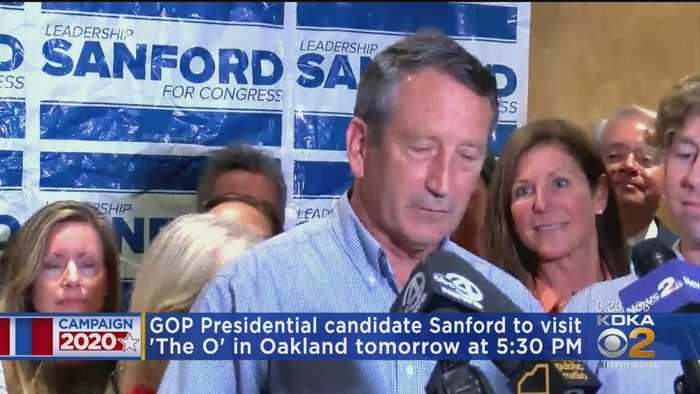 Presidential Candidate Mark Sanford Comes To Pittsburgh