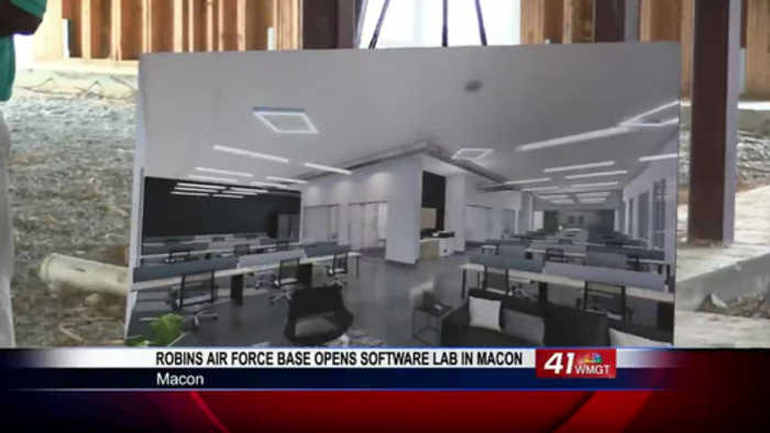 Robins Air Force Base opens software lab in Macon, offers loan repayment for students