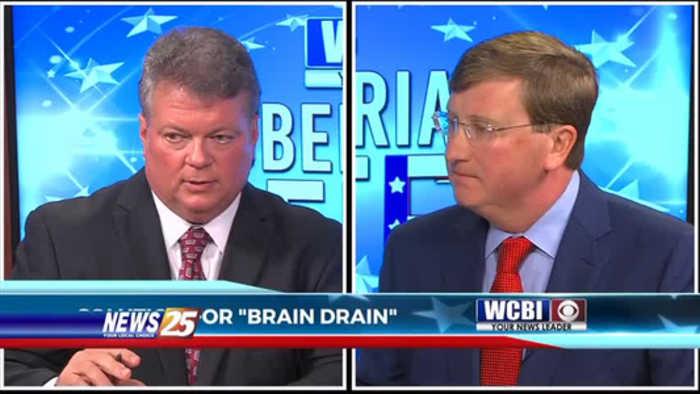 Gubernatorial candidates discuss 'brain drain'