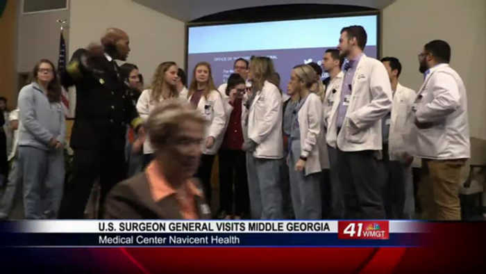 U.S. Surgeon General visits Middle Georgia, addresses opioid crisis