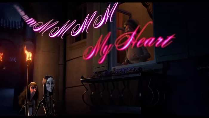 The Addams Family movie - Music Video - Haunted Heart