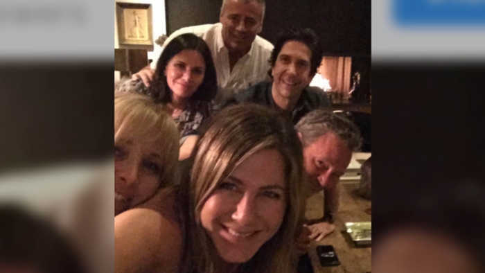 Jennifer Aniston debuts on Instagram with Friends reunion