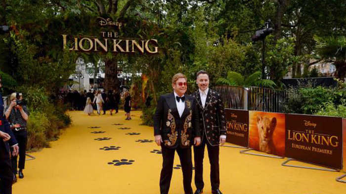 Elton John 'disappointed' by 'The Lion King' remake