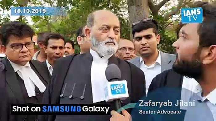 Senior Advocate Zafaryab Jilani on arguments by Muslim side