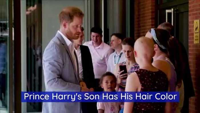 Prince Harry's Son Has His Hair Color