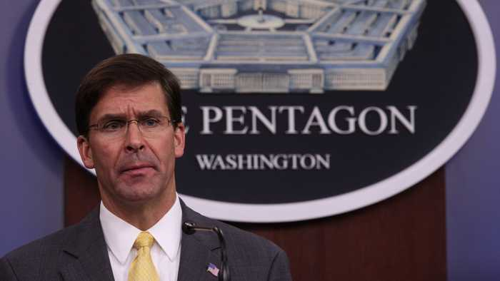 Defense Secretary Mark Esper Will Not Comply With House Subpoena