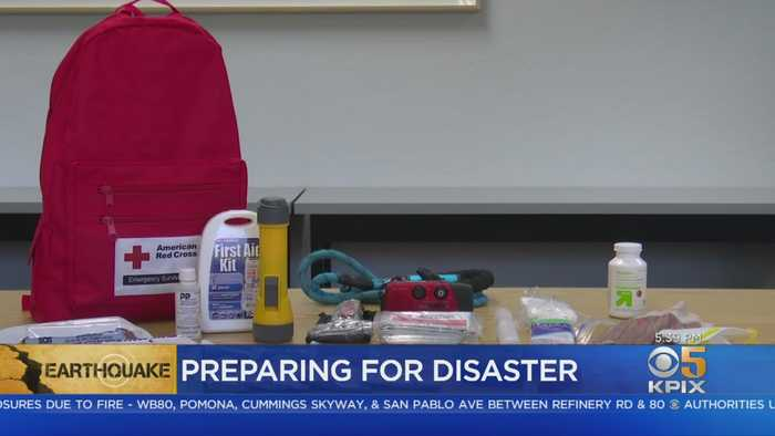Recent Power Shutoffs, Earthquakes Point Up Need For Disaster Kit In Bay Area