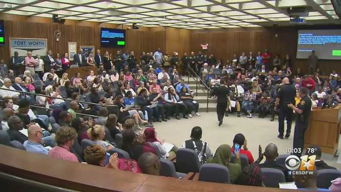 Tense, Packed Fort Worth City Council Meeting Following Deadly Police Shooting Of Innocent Woman
