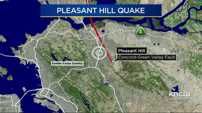3.4 Magnitude Quake Strikes Near Pleasant Hill Day After 4.5 Rocks East Bay