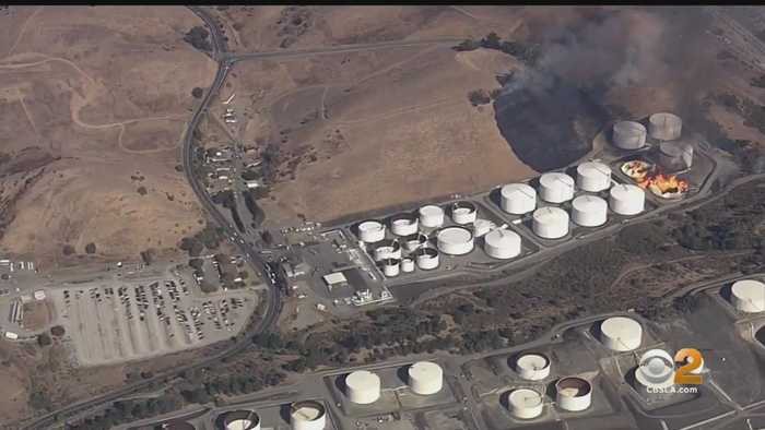 Massive Fire At Crockett Fuel Facility Contained, Shelter In Place Lifted