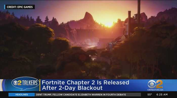 Fortnite Back With Chapter 2