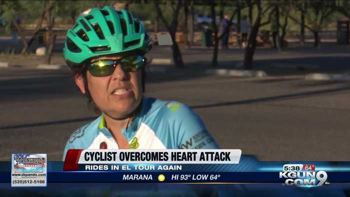Tucson woman uses near-death experience to inspire kindness in El Tour De Tucson