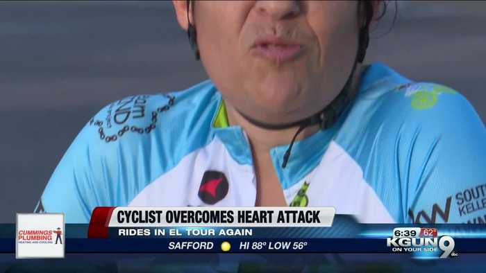 Tucson woman cycles in El Tour De Tucson after life-threatening heart attack