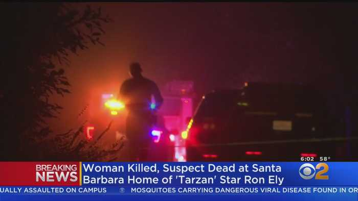Woman Found Dead, Suspect Killed In Shootout At Actor Ron Ely's Home In Santa Barbara