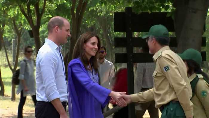 Prince William And Kate Middleton Visit Margalla Hills