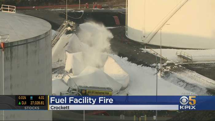 Investigators Trying To Determine Cause Of Crockett Fuel Facility Fire