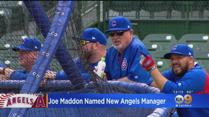 Angels Hire Joe Maddon As New Manager