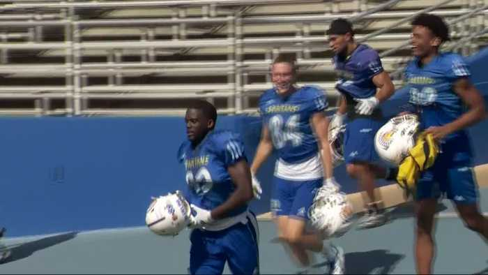 San Jose St. Football 'Stacking Up Wins'