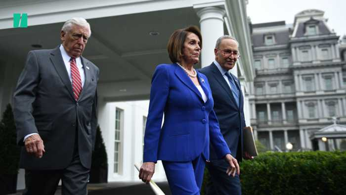 President Trump Has 'Meltdown' At Pelosi