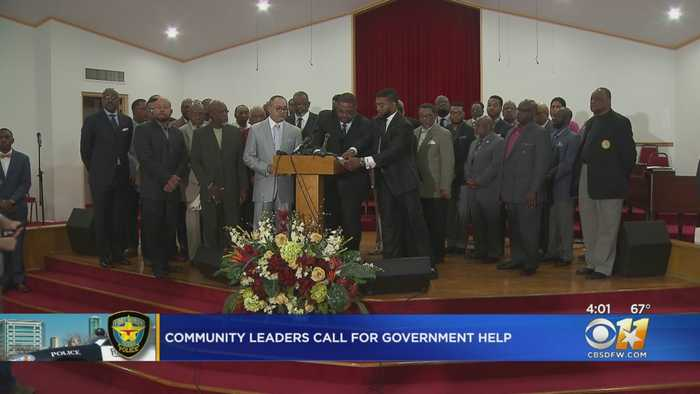 Community Leaders In Fort Worth Ask Justice Department For Reform Plan