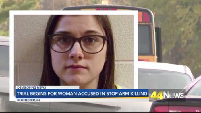 Trial Begins for Woman Accused of Killing Three Siblings at Bus Stop