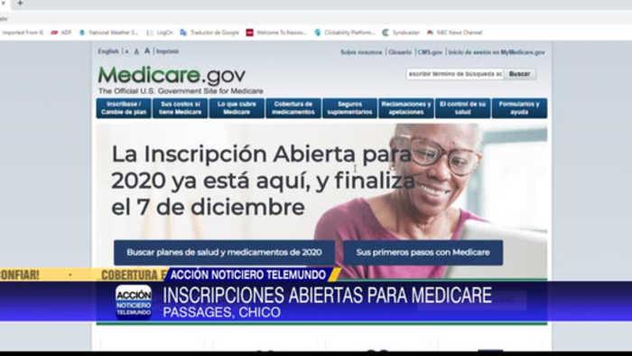 Periodo de inscripciones de Medicare