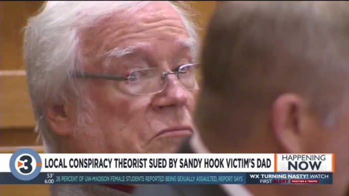 Father of Sandy Hook victim suing local conspiracy theorist for emotional distress