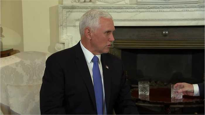 Pence In Turkey For Meeting With Erdongan