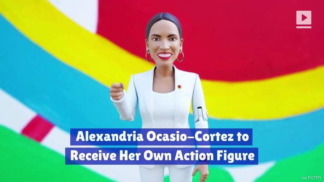 Alexandria Ocasio-Cortez to Receive Her Own Action Figure