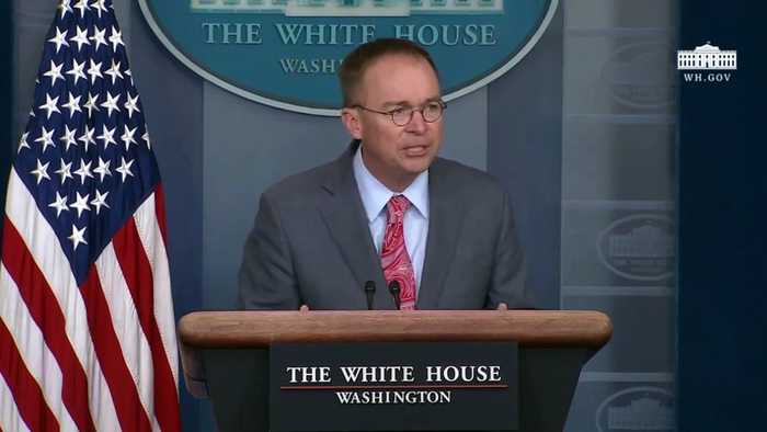 Mulvaney Announces G-7 Will Be At Trump National Doral