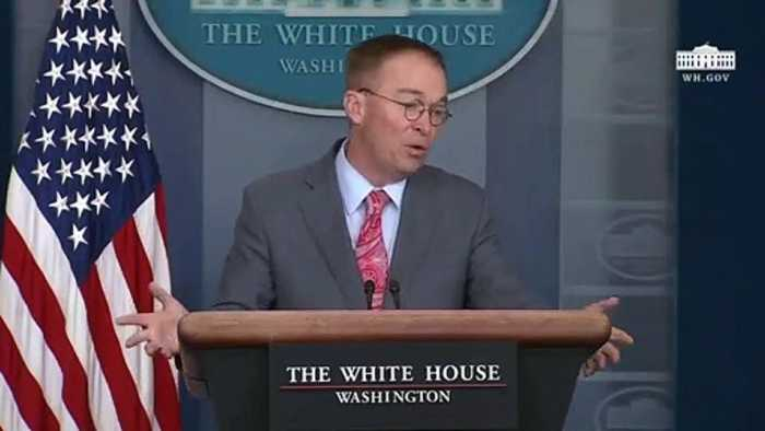 Mulvaney: 'Climate Change Will Not Be' On G-7 Agenda
