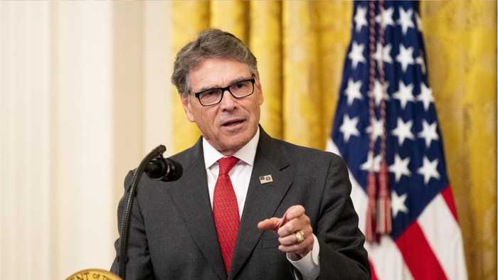 Energy Secretary Rick Perry To Resign