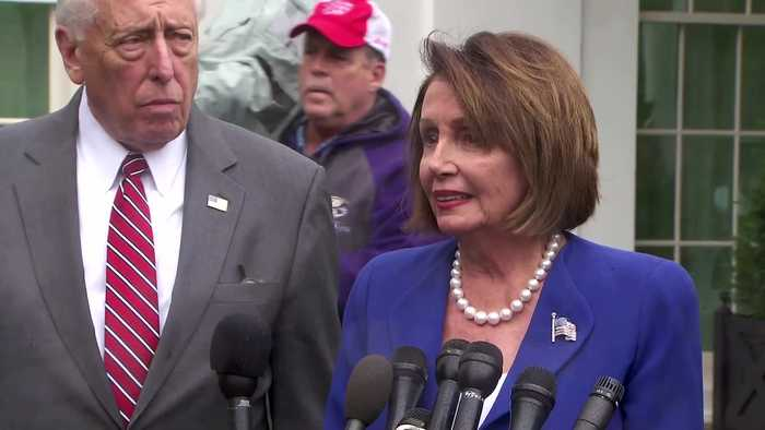 House vote on Syria prompts Trump 'meltdown' -Pelosi